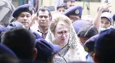 খালেদার অনুপস্থিতিতে বিচার বেআইনি : ফখরুল