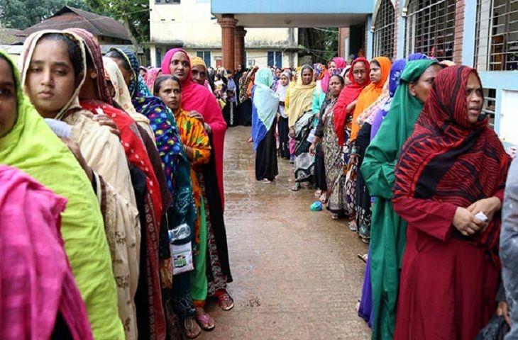 গাইবান্ধা-৩ আসনে ভোটগ্রহণ চলছে