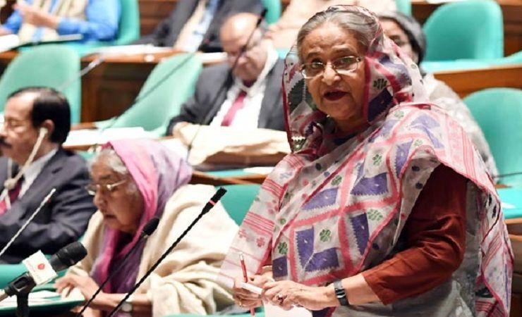 জিয়া-এরশাদকে সাবেক রাষ্ট্রপতি বলা যায় না : প্রধানমন্ত্রী