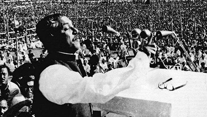 কাতার দূতাবাসে বঙ্গবন্ধুর ৭ মার্চের ভাষণ আরবি অনুবাদ