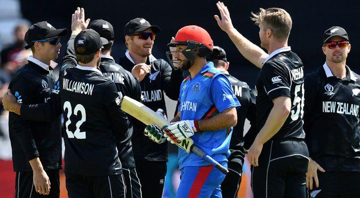 বৃষ্টি শেষে নিউজিল্যান্ড-আফগানিস্তান খেলা শুরু