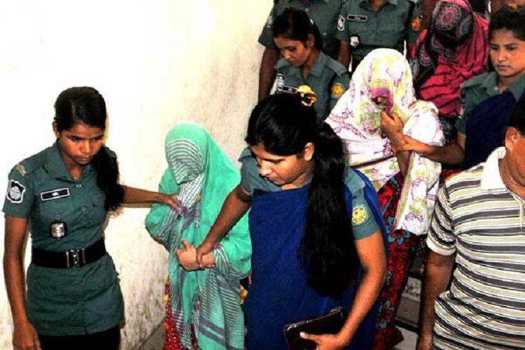 আজিমপুরে অভিযান : ৩ নারী জঙ্গির বিচার শুরু