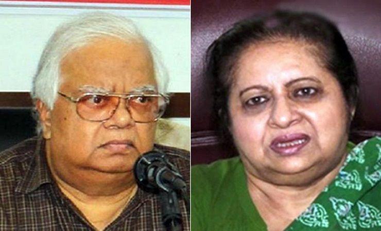 নাজমুল হুদা ও তার স্ত্রী সিগমা হুদা