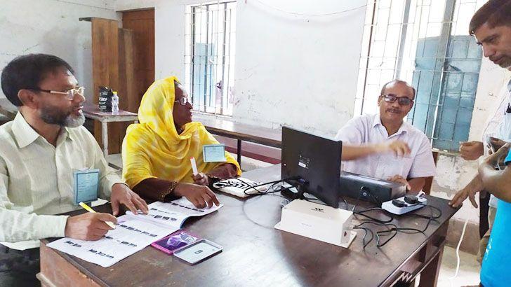 রংপুর-৩ আসনের উপনির্বাচনের ভোট চলছে