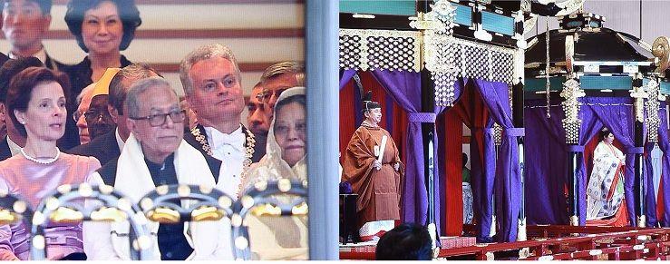 জাপান সম্রাটের অভিষেকে রাষ্ট্রপতি আবদুল হামিদ