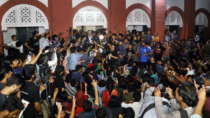 আবরার হত্যা : বুয়েট শিক্ষার্থীদের আন্দোলন স্থগিত, বুধবার পরবর্তী সিদ্ধান্ত