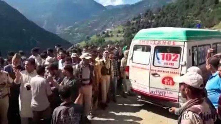 কাশ্মীরে বাস দুর্ঘটনায় ১৬ জন নিহত