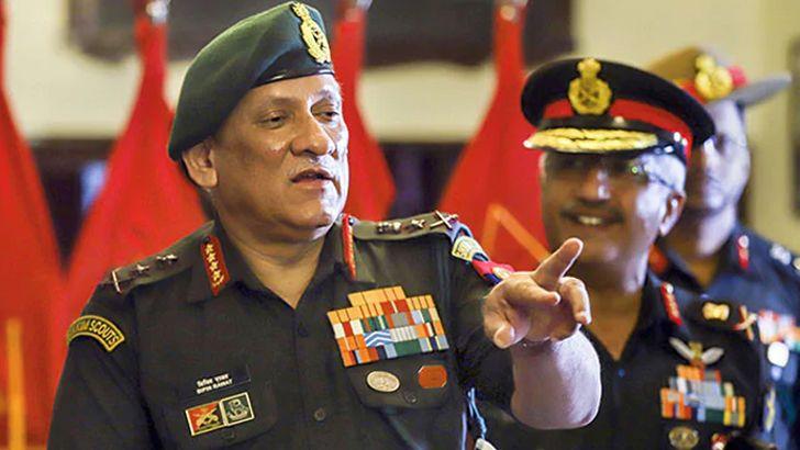 সীমান্তে সেনাবাহিনী প্রস্তুত রাখা হয়েছে : ভারতীয় সেনাপ্রধান