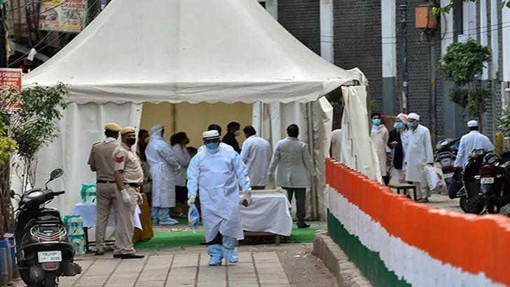 করোনা : দিল্লিতে তাবলিগের ৭ জনের মৃত্যুর পর মসজিদে তালা
