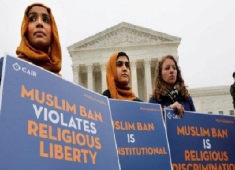 যুক্তরাষ্ট্রে 'মুসলিম নিষেধাজ্ঞা'র আদেশ ঠেকাতে বিল পাস