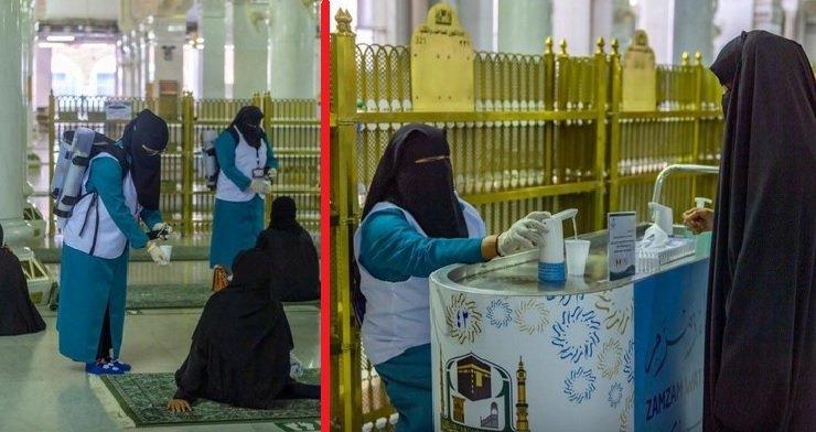 হারামাইনে কাজের জন্য ৬০০ নারীকে প্রশিক্ষণ