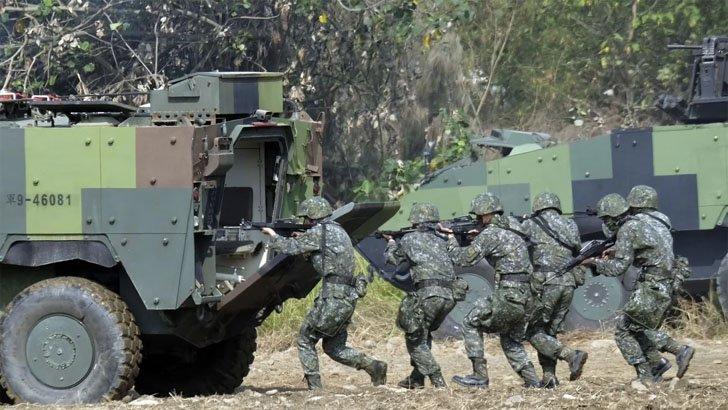 তাইওয়ানের বাহিনীকে 'গোপনে প্রশিক্ষণ দিচ্ছে' যুক্তরাষ্ট্র