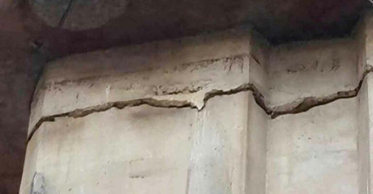 নির্মাণ ত্রুটির কারণে ফ্লাইওভারের পিলারে ফাটল : চসিক মেয়র
